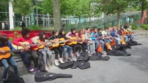 optreden groep 6 zuid WTC