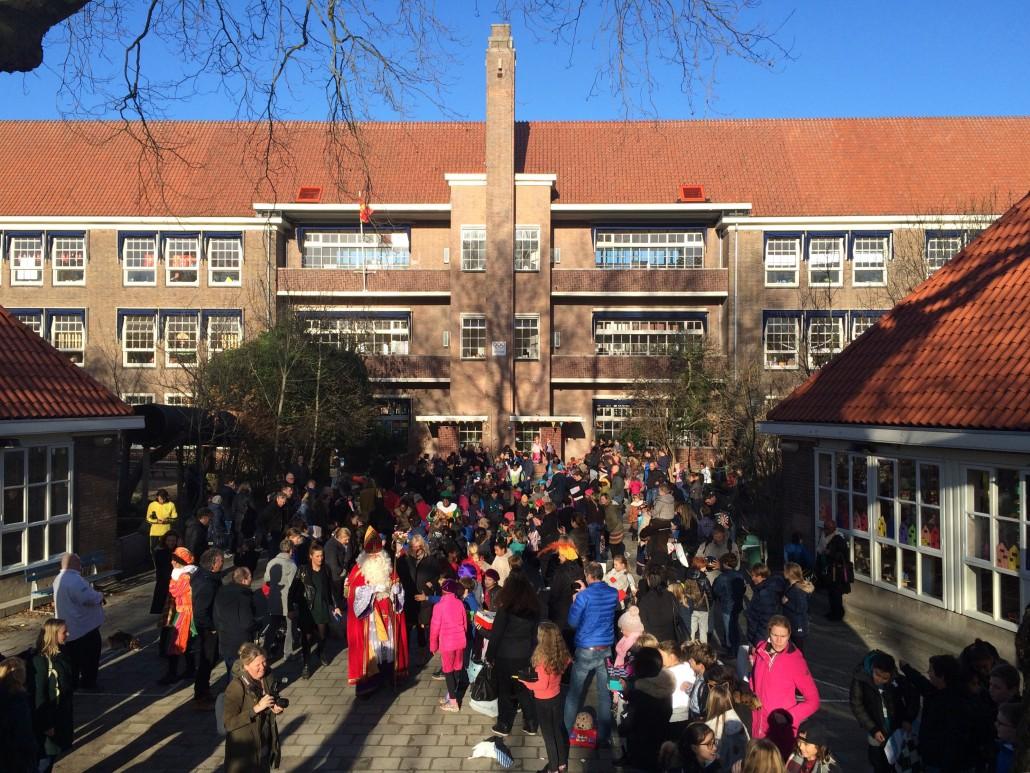 Sinterklaas Olympiaschool